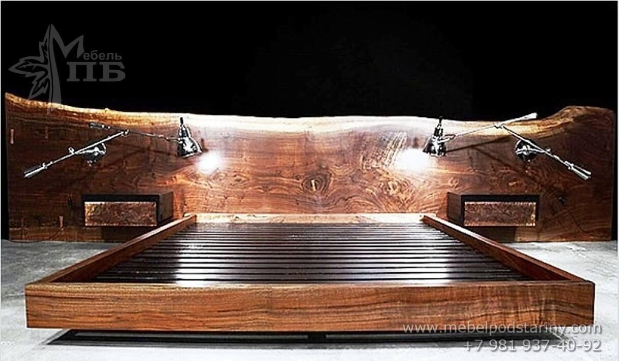 bed of oak № 10