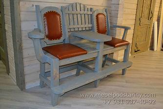 диван для бильярда, диван для бильярда цена, диван для бильярда купить, диван для бильярда из дерева под старину, купить диван для бильярда в спб