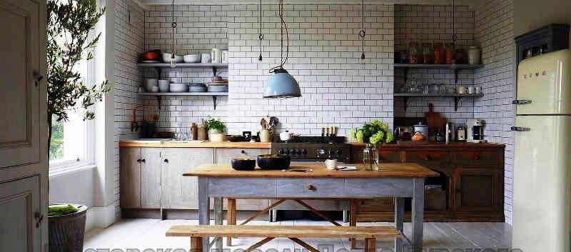 Кухня в стиле эклектика ИНГА