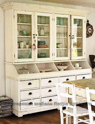 буфет в французском стиле, буфет в французском стиле купить, буфет в французском стиле цена, буфет в французском стиле заказать, деревянный буфет