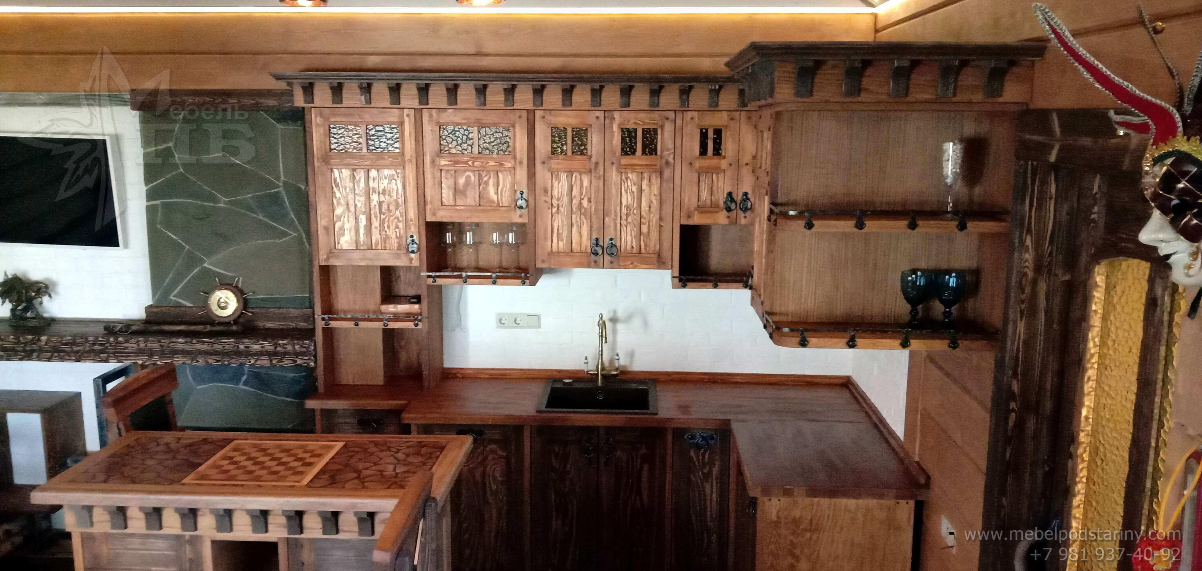 Кухня стиль эклектика МИЛАНА (5)
