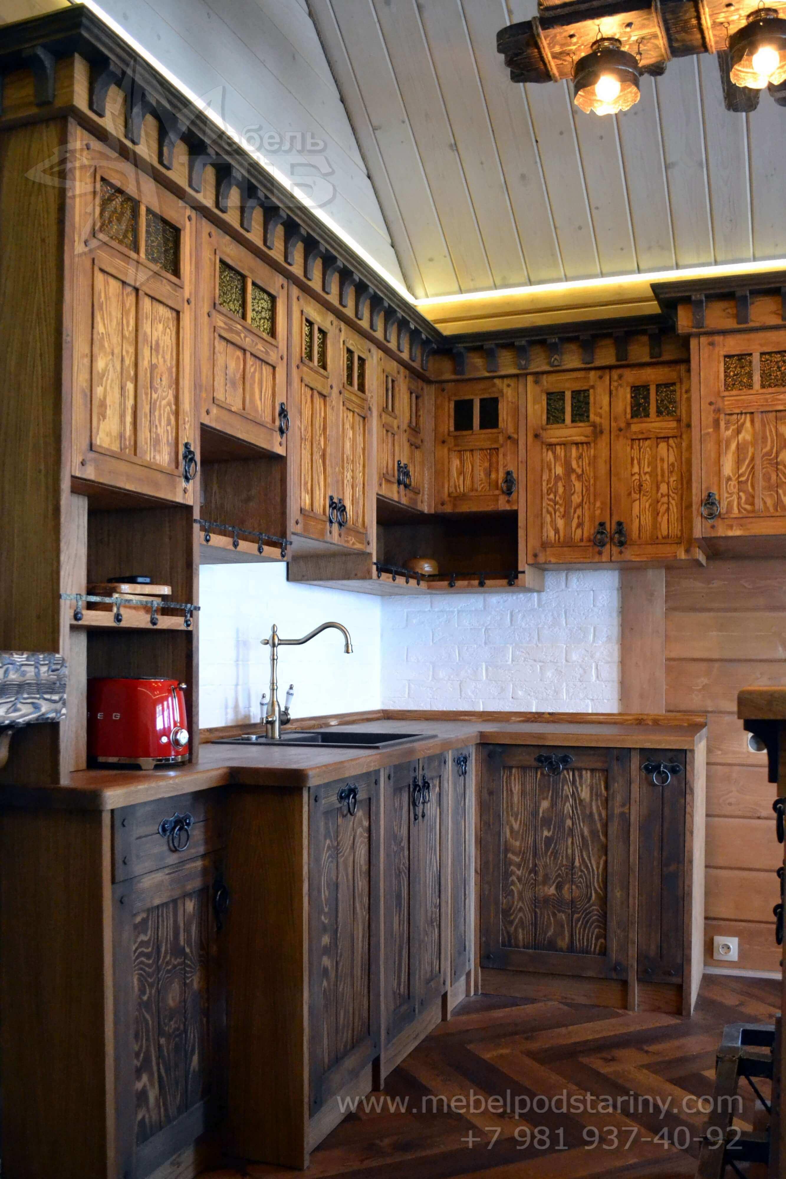 Кухня стиль эклектика МИЛАНА (11)