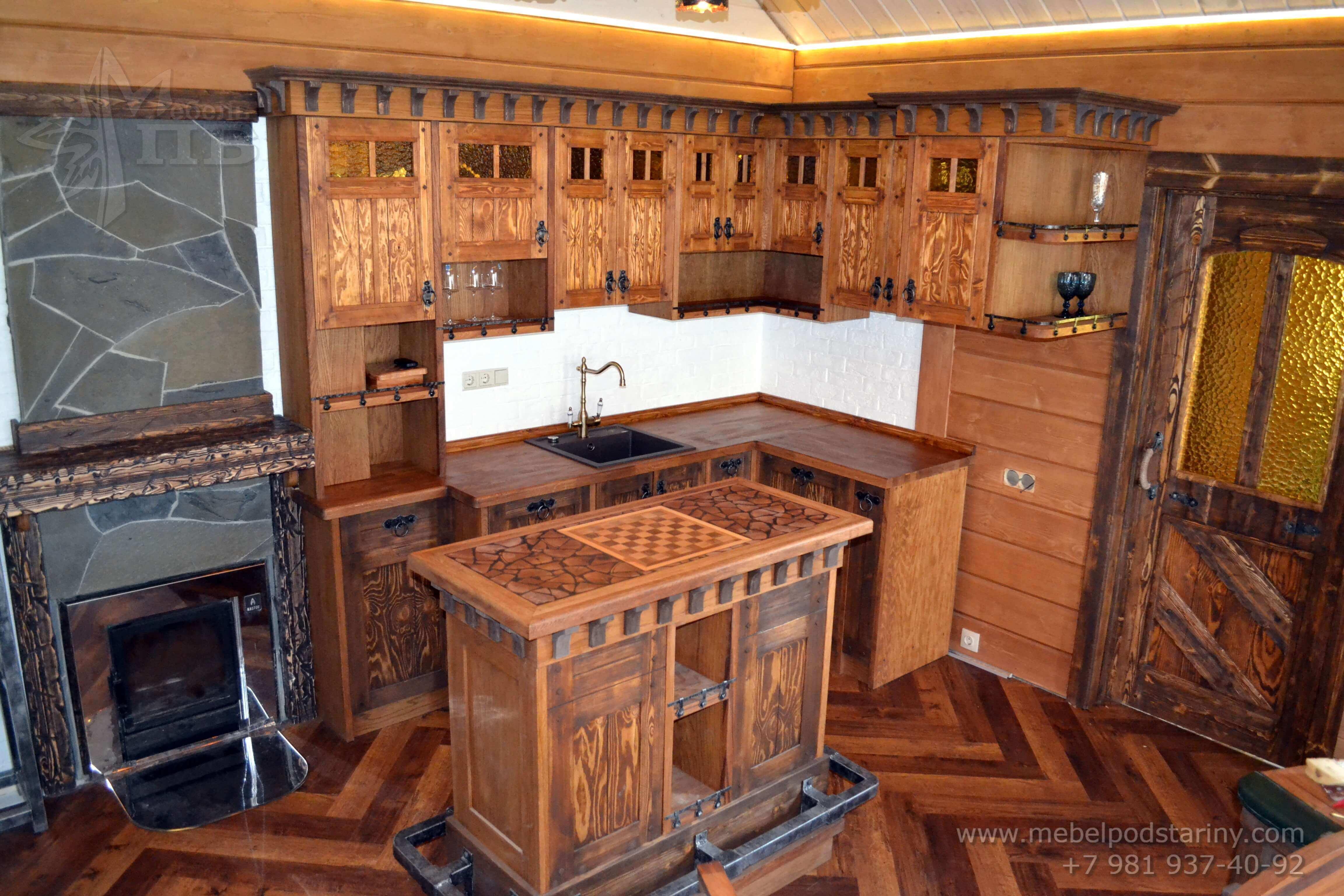 Кухня стиль эклектика МИЛАНА (1)