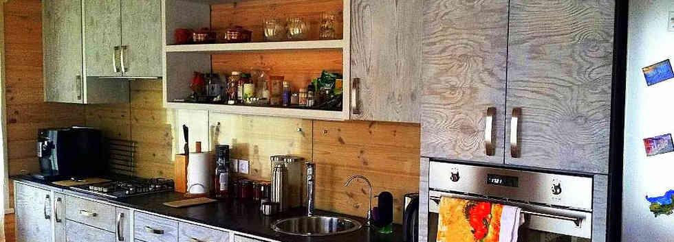 Кухня из массива дерева ИДА