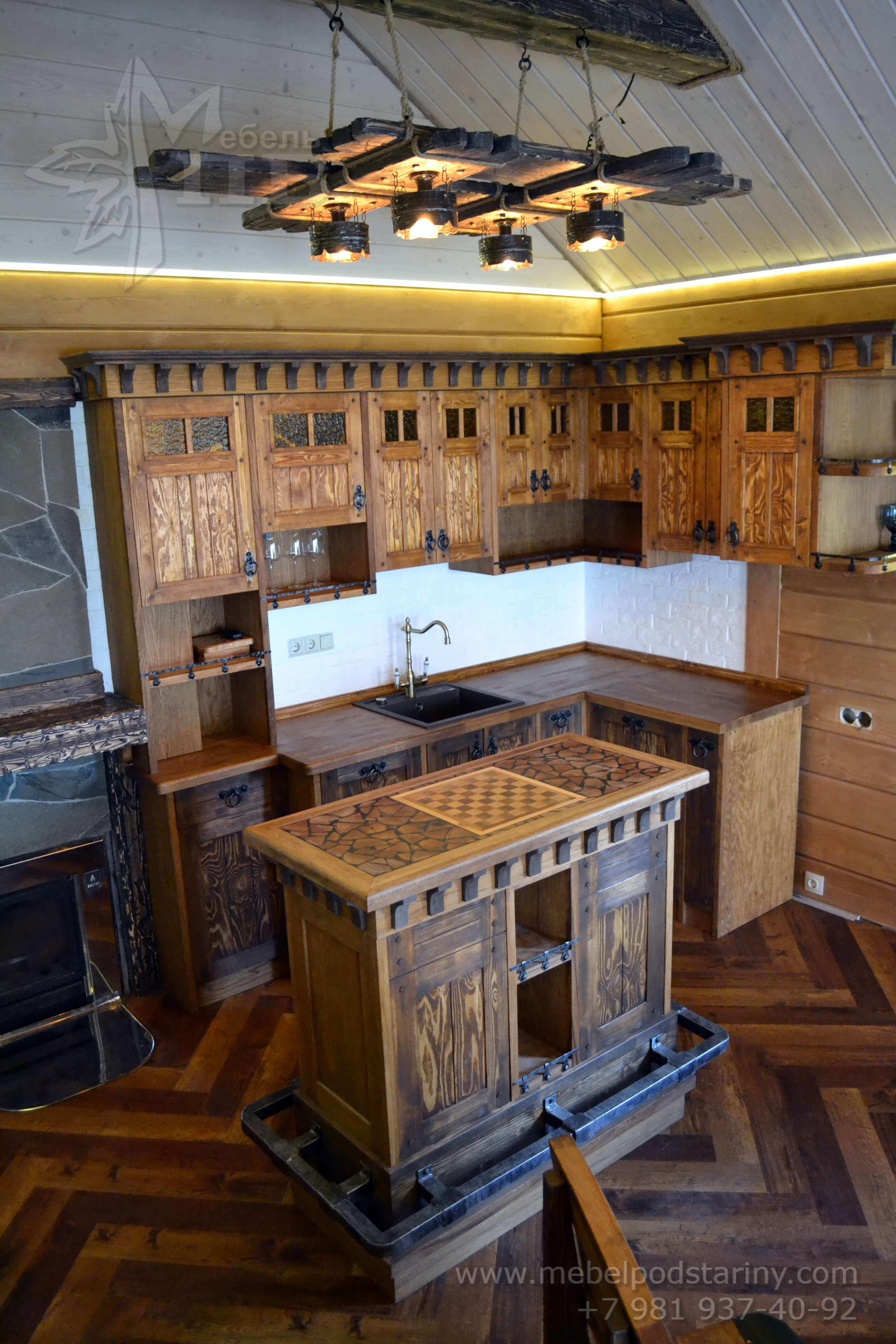 Кухня стиль эклектика МИЛАНА (9)