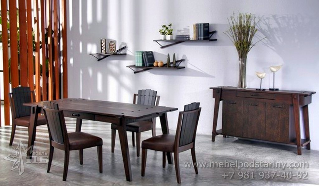 Стол в колониальном стиле (2)