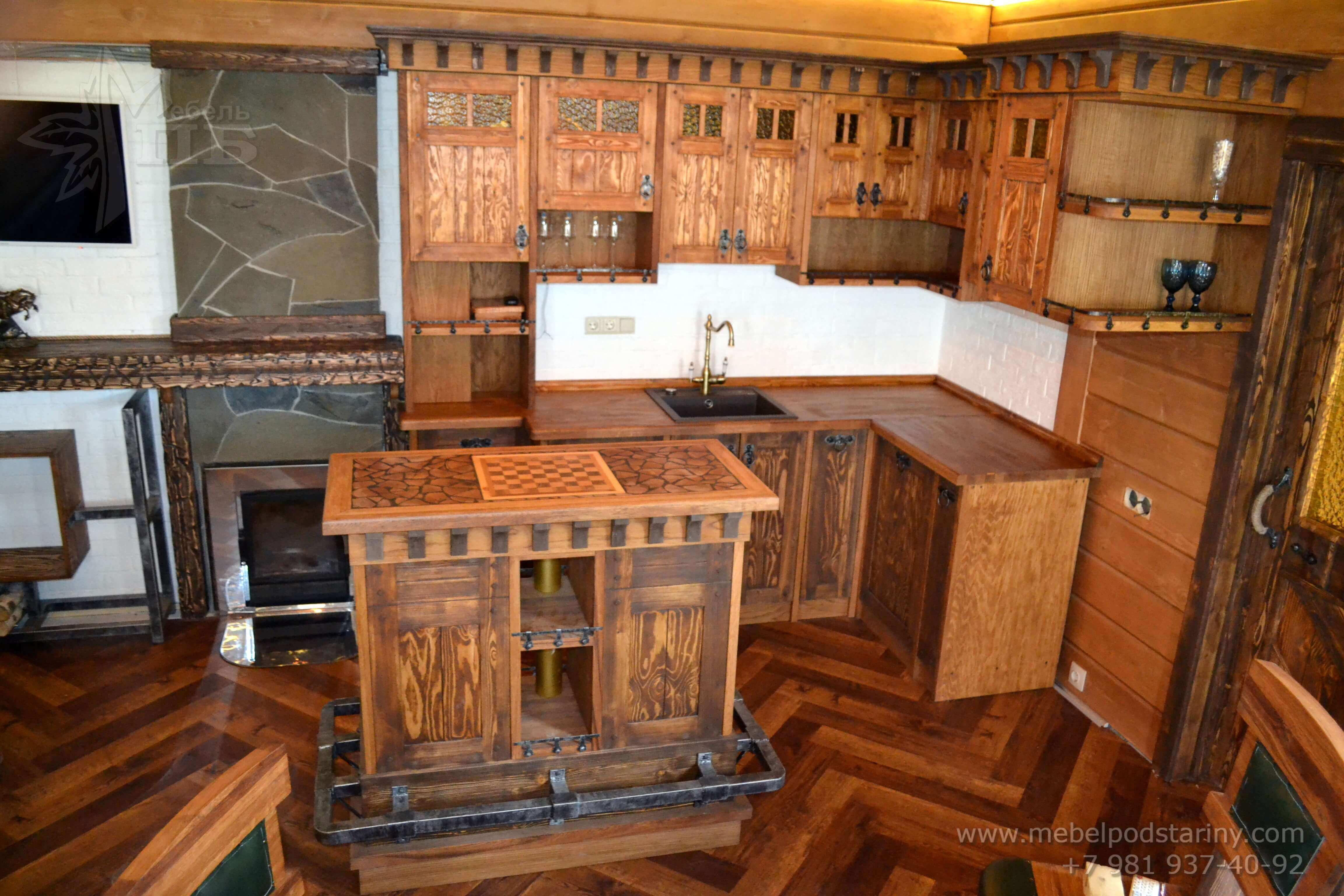Кухня стиль эклектика МИЛАНА (4)