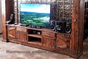 шкаф под телевизор с полками и ящиками, шкаф под телевизор из дерева, тумба под телевизор из дерева, шкаф под телевизор в гостиную, тумба под телевизор купить