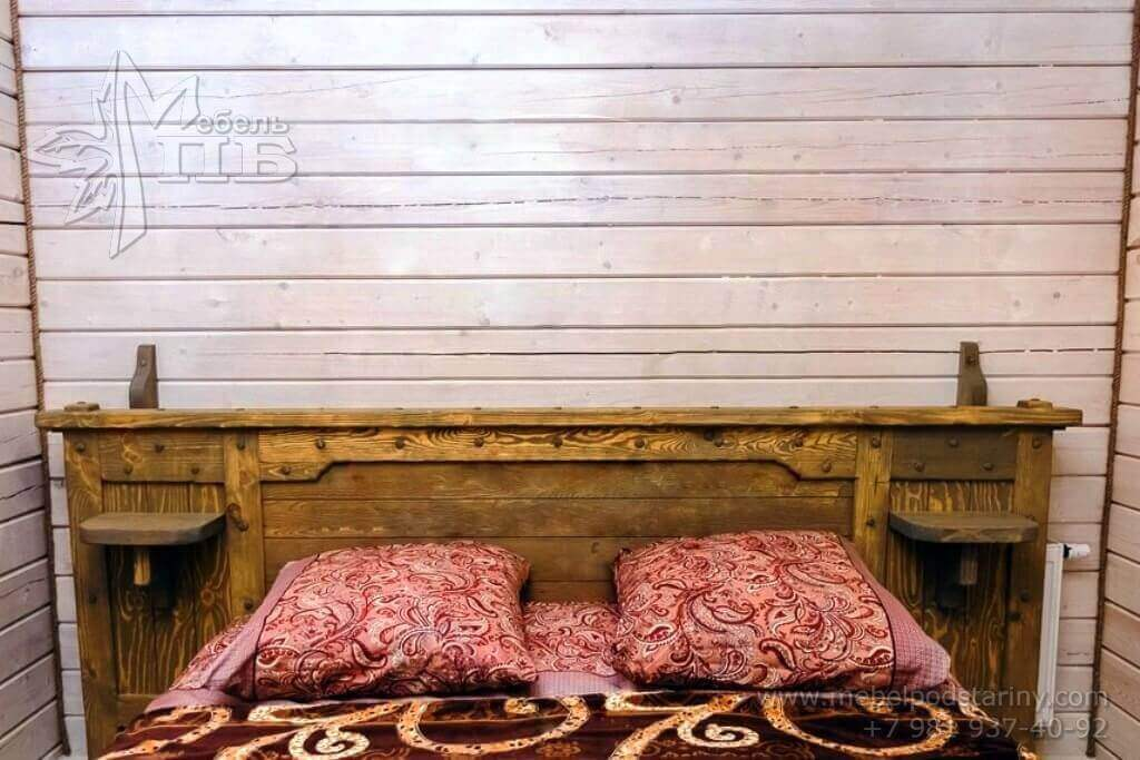 bed made of solid wood № 4 (3)