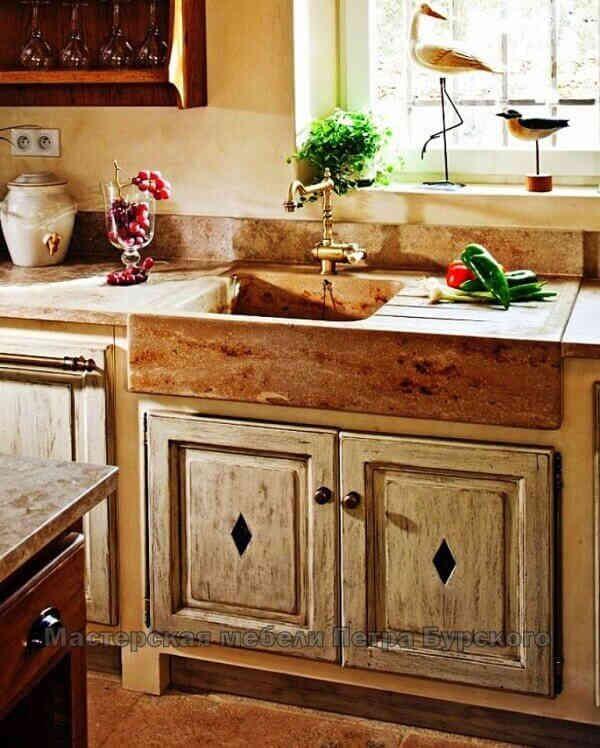 Кухня под старину АБЕЛИЯ