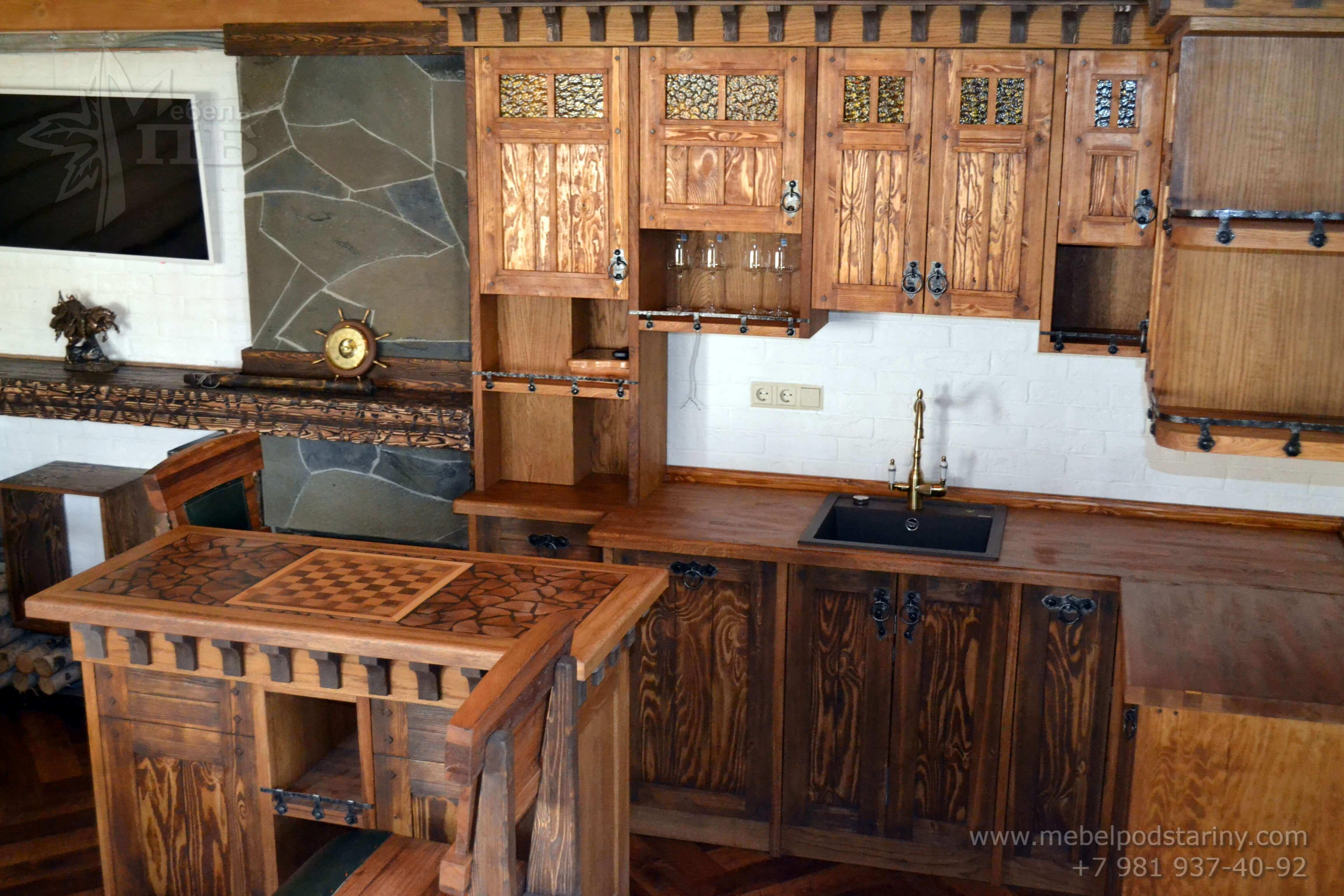 Кухня стиль эклектика МИЛАНА (6)