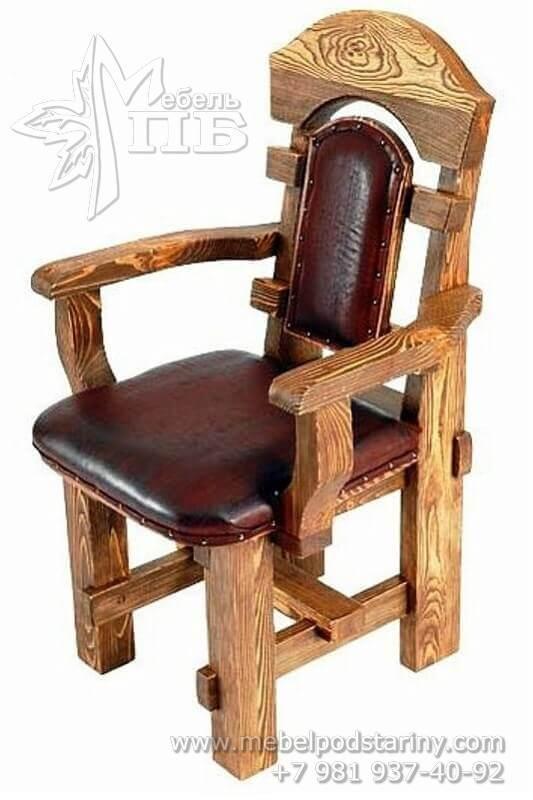 Деревянное кресло № 5