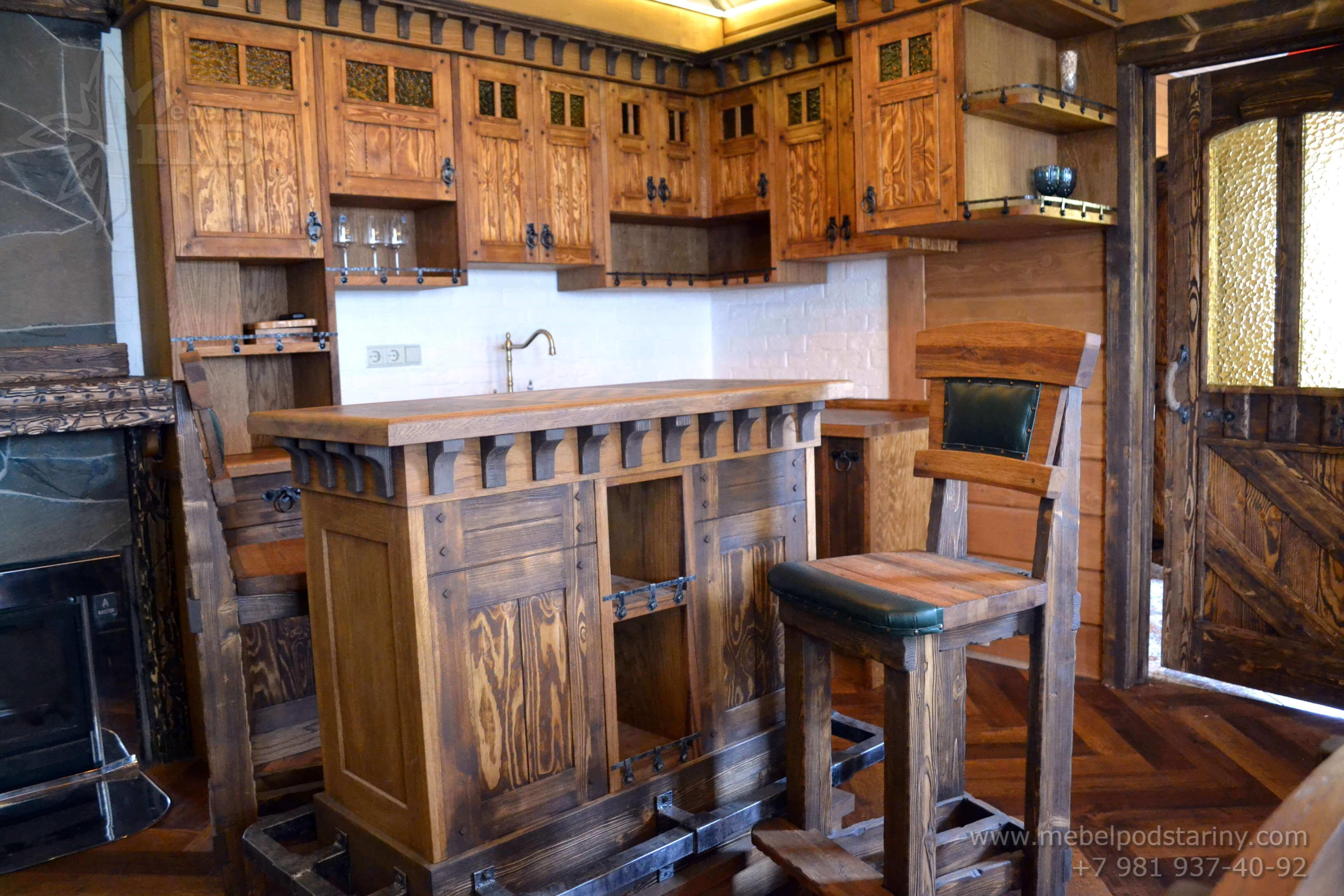 Кухня стиль эклектика МИЛАНА (8)