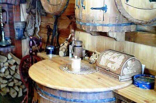 Кухня в деревенском стиле БОЧОНОК