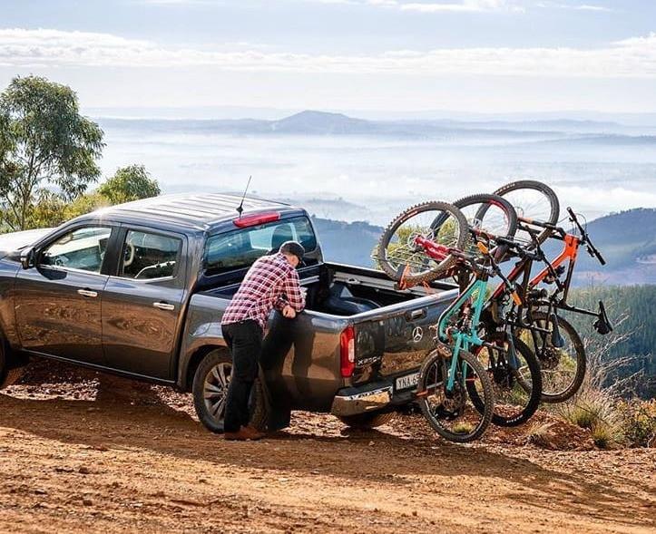 Mountain bike racks