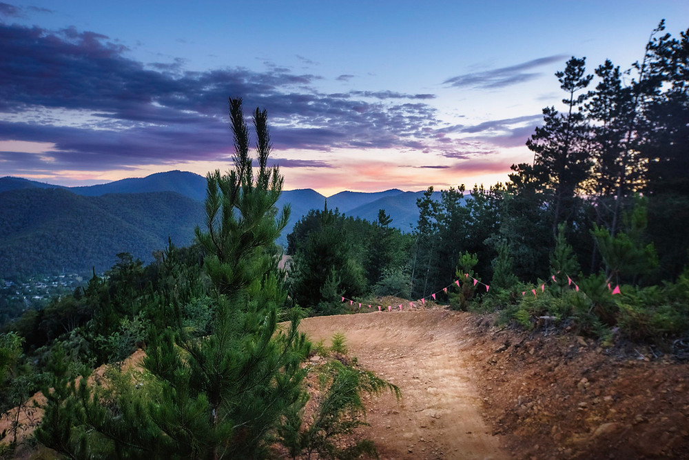 Hero Trail, Mystic Mountain Bike Park, Bright