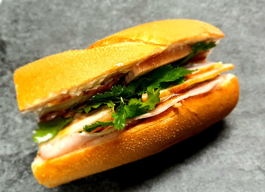 #1. Traditional Banh Mi
