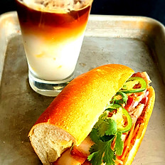 COMBO 1 (Banh Mi & Coffee)