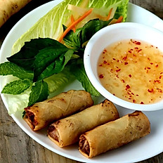 "6. ""Seasonal Special"" Spring Rolls (3Pcs)"
