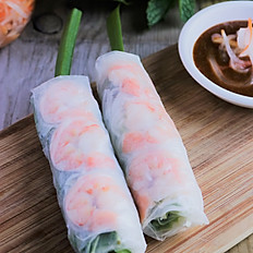 7. Traditional Fresh Summer Rolls (2Pcs)