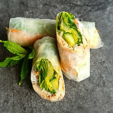 8. BBQ Chicken Summer Rolls (2Pcs)