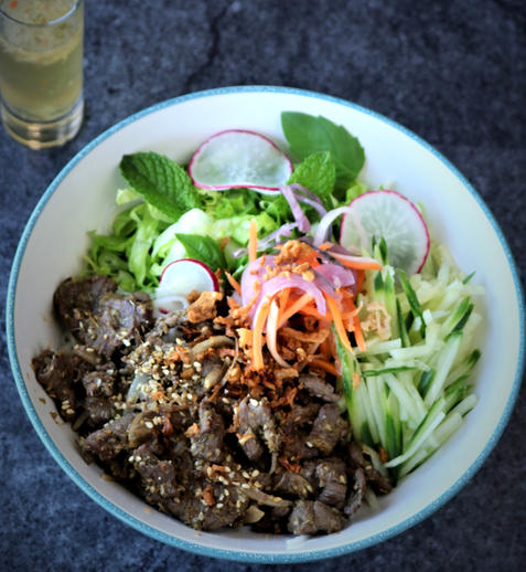 "#14. Beef ""Bún"" Noodle"