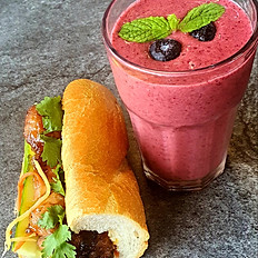 COMBO 3 (Banh Mi & Smoothies)