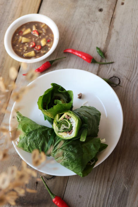 Seasonal Summer Rolls (Beef & Pinapple)