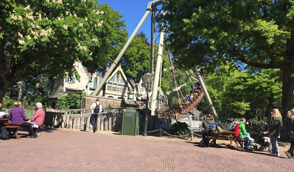 De Efteling - Riesen-Schiffschaukel