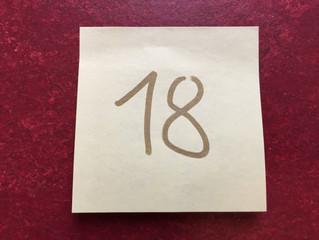 Tür #18 - eltern