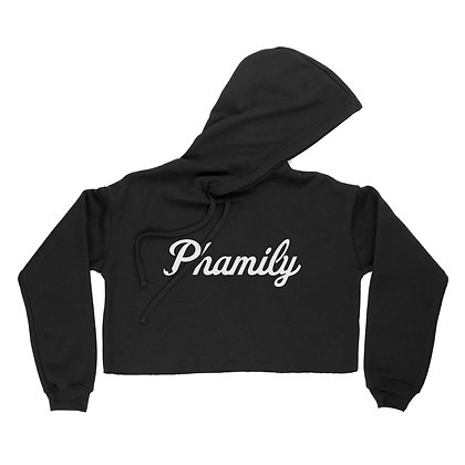 Phamily Cropped Hoodie