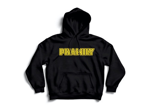 Phamily on the inside hoodie