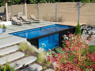Shipping Containers as Pools Making a Splash!