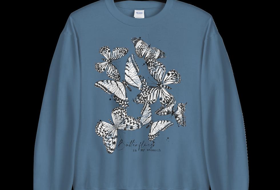 Butterflies in my stomach Sweatshirt
