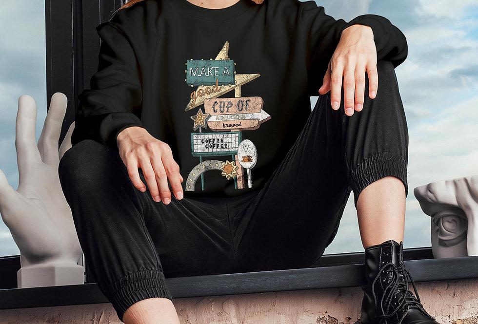 Brewed Coffee Sweatshirt