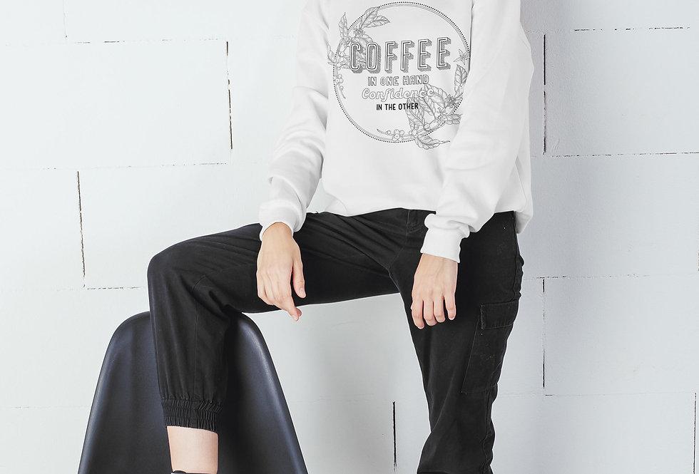 Coffee and Confidence Sweatshirt