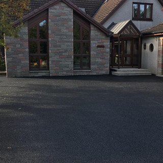 Tarmac driveway in Blairgowrie.