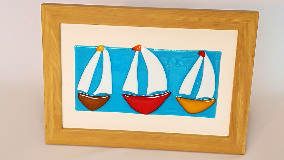 Picture: Three Boats Framed