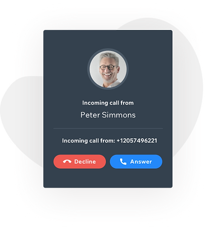 Take and make calls seamlessly with Wix Answers
