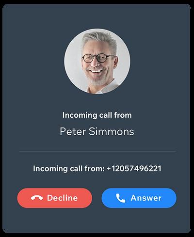 take and make seamless calls