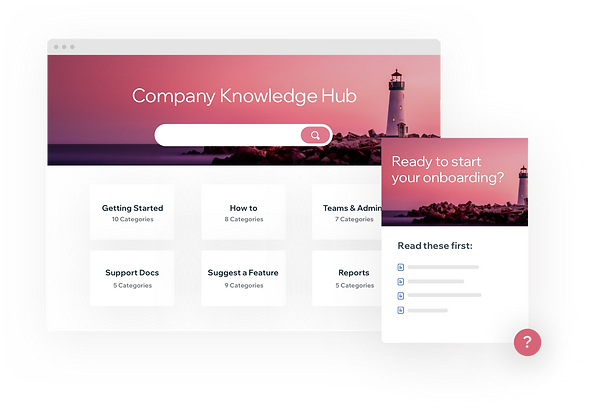 Company knowledge hub