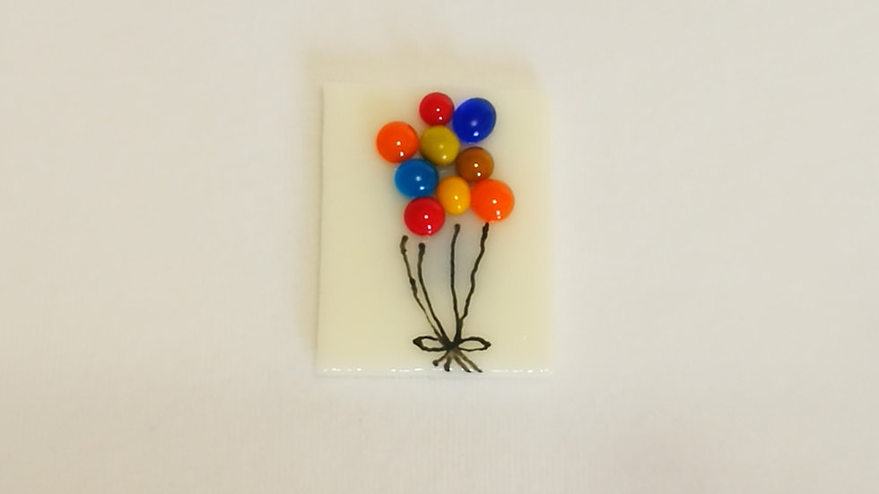 Balloon Fridge Magnets