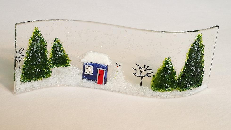 Wave picture - Snow scene