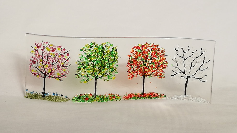 Wave picture - Four seasons trees
