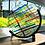 Thumbnail: Suncatcher - multi coloured circle