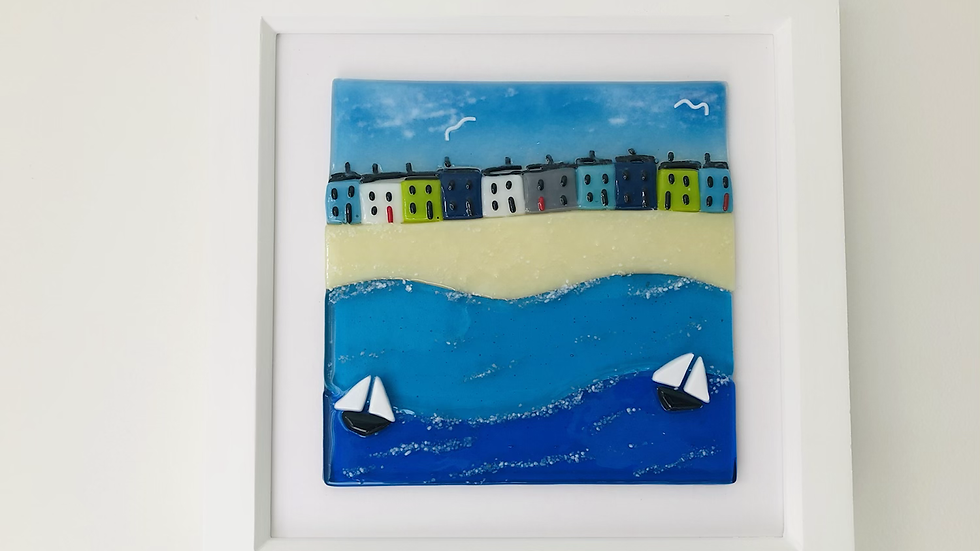 Picture - Seascape with cottages