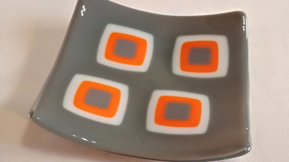 Square Platter - retro design