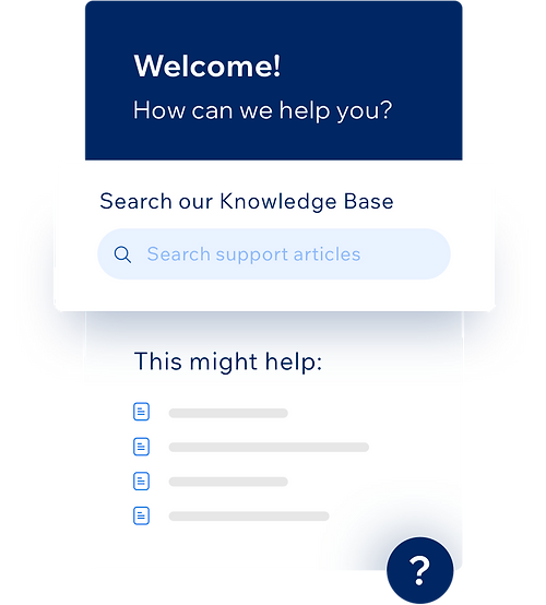 Make knowledge easily accessible across your product or website