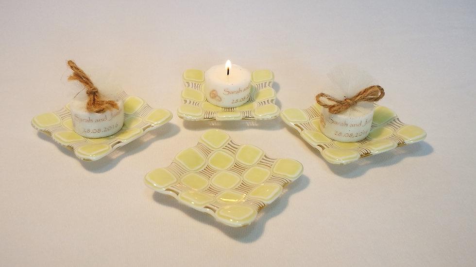 Candle dish