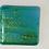 Thumbnail: Coaster sparkling green and blue